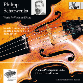 Philipp Scharwenka - Works for Violin and Piano