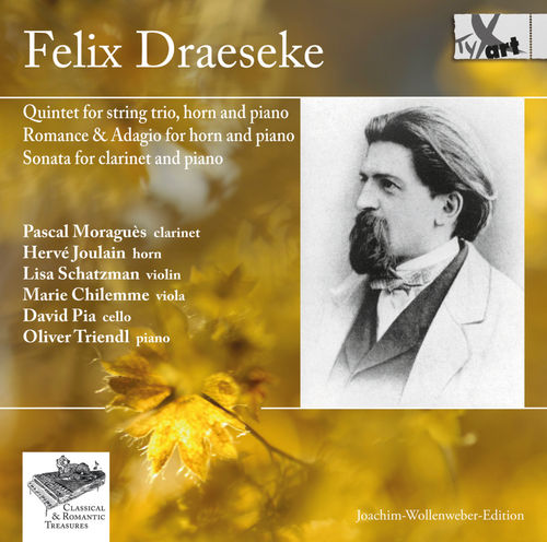Felix Draeseke Quintet for string trio, horn and piano